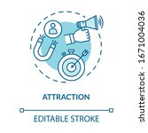 attraction concept icon.... | Shutterstock .eps vector #1671004036