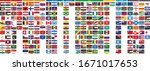 this is a list of flags of the... | Shutterstock .eps vector #1671017653