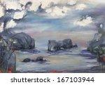 big rocks | Shutterstock . vector #167103944