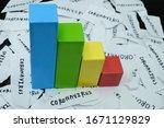 coronavirus impact and effect... | Shutterstock . vector #1671129829