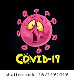 coronavirus cartoon... | Shutterstock .eps vector #1671191419