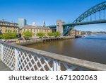 The Tyne Bridge And Guildhall...