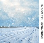 winter | Shutterstock . vector #167120978
