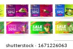 spring sale  up to 50  off ...   Shutterstock .eps vector #1671226063