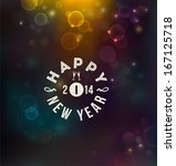 happy new year background | Shutterstock .eps vector #167125718