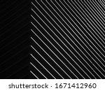 black and white architecture... | Shutterstock . vector #1671412960
