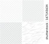 vector geometric seamless... | Shutterstock .eps vector #167143634