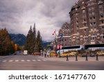 Town Of Banff  Alberta   Canad...