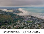 Panoramic View Of Ocean Bay And ...