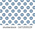 evil eye vector pattern. evil... | Shutterstock .eps vector #1671535129