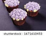 Delicate Chocolate Cupcakes...