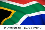 The National Flag Of South...