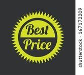shopping  design over black  ... | Shutterstock .eps vector #167172209