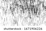 rough black and white texture... | Shutterstock .eps vector #1671906226