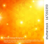 colorful abstract orange... | Shutterstock .eps vector #167202353