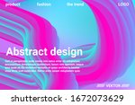 futuristic abstract background. ... | Shutterstock .eps vector #1672073629