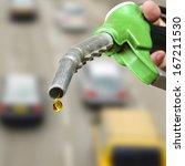 drop of fuel. | Shutterstock . vector #167211530