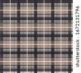 stylish checkered plaid...   Shutterstock .eps vector #1672131796