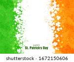 Saint Patrick's Day Greeting...