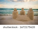 Sand Castle Building At Destin...