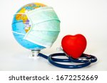 Red Heart And A Stethoscope...