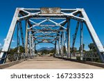 walnut canyon bridge on route... | Shutterstock . vector #167233523