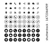 website icon set  web icon set  ... | Shutterstock .eps vector #1672366909