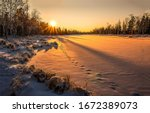 Winter Snow Nature Sunset...