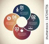 infographics design over ...   Shutterstock .eps vector #167240756