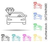 clean car multi color style...