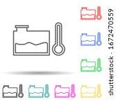 car accumulator multi color...