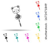 baby rattle multi color style...