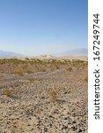 sand dunes in death valley... | Shutterstock . vector #167249744