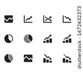 outline finance graph chart...   Shutterstock .eps vector #1672632373