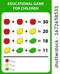 educational game for children....   Shutterstock .eps vector #1672658533