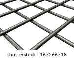 Metal Mesh Made Iron Rods....