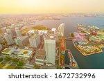 Yokohama Cityscape And Yokoham...