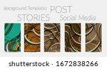 abstract vector social media...   Shutterstock .eps vector #1672838266