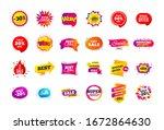 sale banner badge. special... | Shutterstock . vector #1672864630