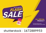 only weekend special flash sale ... | Shutterstock .eps vector #1672889953