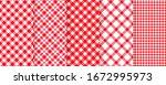 tablecloth picnic seamless...   Shutterstock .eps vector #1672995973