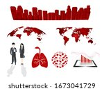 covid 19  coronavirus 2019 ncov ... | Shutterstock .eps vector #1673041729