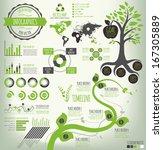 green nature vector...   Shutterstock .eps vector #167305889