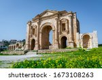 Arch Of Hadrian At The Roman...