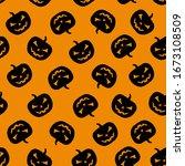 Halloween Pumpkin Pattern....