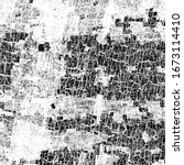 vector pattern of scratches ... | Shutterstock .eps vector #1673114410