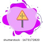 severe weather colored icon....