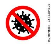 abstract virus strain model of... | Shutterstock .eps vector #1673204803
