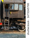 Old Steam Engine Train And...