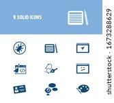 webdesign icon set and visual...